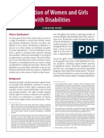Sterilization Disability Briefing Paper