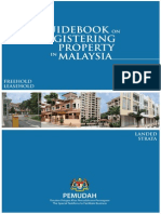Guideboobfbk on Registering Property in Malaysia