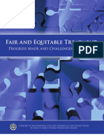 Fair & Equitable Treatment- Progress Made and Challenges Remaining