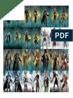 Arkham Figures