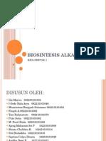 Fitokim Biosintesis Alkaloid