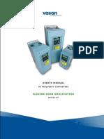 Vacon NXL Lift Door ALFIF127 Application Manual UD