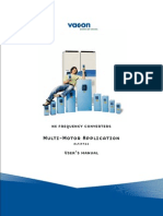 Vacon NXL Multi Motor ALFIFF26 Application Manual