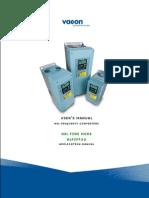 Vacon NXL PID Fire Mode ALFIFF32 Application Manua