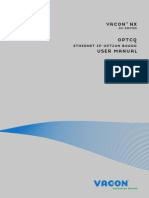 Vacon NX OPTCQ Ethernet IP Board User Manual DPD00