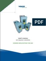 Vacon NXP Center Winder APFIFF26 Application Manua