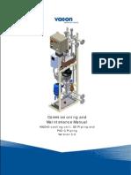 Vacon NXP HXL040 Cooling Unit Installation Manual
