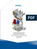 Vacon NXP HXL120 Cooling Unit Installation Manual