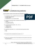 CO C1 Doc Court La Distribution Des Produits Bio
