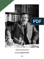 Móricz Zsigmond - A GALAMB PAPNÉ.pdf
