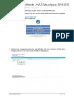Panduan Instalasi Biodata UN Offline 2015