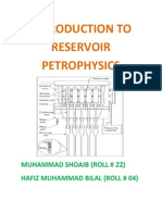 Introduction to Reservoir Petrophysics