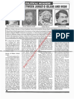 Operation Cleanup Against MQM 1992 - 4