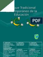 Enfoque Tradicional Contemporáneo de la Educación