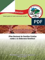 ¡Plan Nacional de Semillas Criollas Rumbo a La Soberanía Genética!