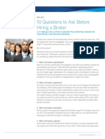 10 Questions to Ask Before Hiring a Broker