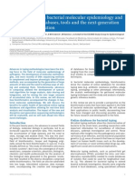 Bioinformatics in Bacterial Molecular Epidemiology