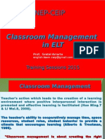 Classroom Management 2015