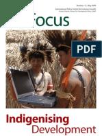 Indigenising Development - IPC May 2009