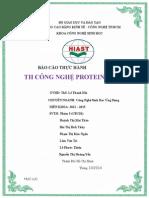 Thực Hành Công Nghệ Enzyme -Protein