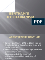 Bentham's Utilitarianism