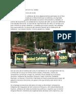 Crónica Del Paro Cafetero en Irra