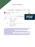 Manila to Cebu Airfare