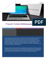 Proyecto teclado multilanguage X Light