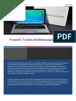 Proyecto teclado multilanguage X Light