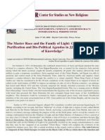 CESNUR 2004 Conflict, Spiritual Purification and Bio-Political Agendas in JJ Hurtak