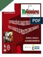 Contribución Del Ganado Criollo Colombiano en La Calidad de Los Productos (Carne) Orgánicos.