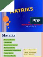 Materi Matematika (Matriks)