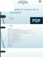 Actualité Nationale Et Internationale de La Logistique