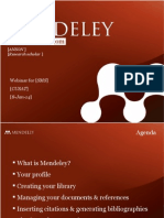 Mendeley Teaching Presentation (1)