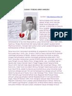 Biografi Tengku Amir Hamzah