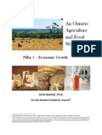 ontario food strategy - economic growth
