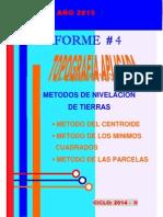 4. metodos de nivelacion de tierras