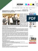 Jornal Agora Santa Inês - Pesquisadores Se Reúnem Com Ministro e Diretores Da Petrobrás e Da Cepel No Rio