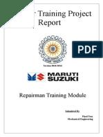 Final Report Maruti