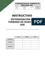 INS.00.00 DETERMINACION DE TURBIDEZ  DE MUESTRAS ASE.docx