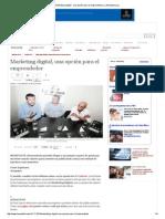 Marketing digital - una opción para el emprendedor _ LaRepublica.pdf