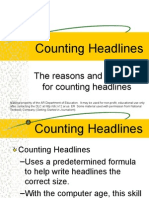 Counting Headlines 3