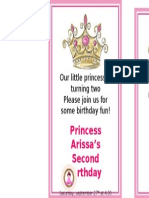 Arissa Birthday Card