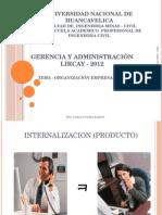 Clase 01organizacion Empresa