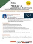 ASME B31-3 Process Piping Code Bandung