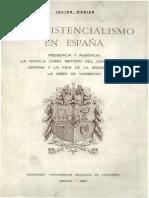 El Existencialismo en Espana