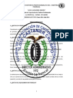 Educacion Vial Cristian Morocho 2014