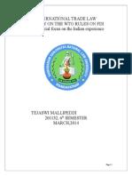 International Trade Law Project