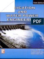 Irrigation and Water Power Engineering 16th Edition