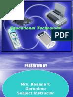 b  history of educational technology